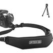 Accessory Genie - Quick Release Easy-Glide Camera Strap w/ Mini Tripod f/ Nikon D7100 D5200 D3200 D3100 D600 & More!
