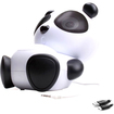 GOgroove - Kids Panda 3.5mm Speaker for Smartphones , Tablets , MP3 Players & More! - Multi