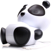 GOgroove - Mama Panda Pal Portable Stereo Speaker System - Multi
