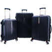 "Traveler's Choice - Tasmania 21"" Expandable Spinner Suitcase - Diamond Cut Pattern"