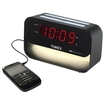 Timex - T128B Decorative XBBU Dual Alarm Clock with USB Charging and Night Light