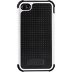 Wireless Xcessories - Ballistic Shell Gel Case For iPhone 4/4s GSM and CDMA - Black, White - Black, White