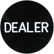 Trademark - Professional Black Dealer Button - Black