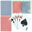 Trademark - GEMACO 100% Plastic Weave Standard Poker 2 Deck Setup