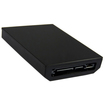 AGPtek - 250GB HDD Hard Disk Drive Disc Internal for Microsoft Xbox 360 Slim Games - Black