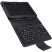AGPtek - Stand Case with Bluetooth Keyboard For Samsung Galaxy Tab 10.1 - Black