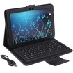 AGPtek - Wireless Bluetooth Keyboard Case for Samsung Galaxy Tab 10.1 Tablet - Black