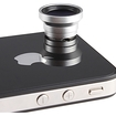 AGPtek - 2-in-1 0.67x Wide Angle Macro Lens for Apple iPhone 4 Nano 4G iPad