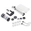 AGPtek - Fisheye Macro Wide Angle 8X Optical Zoom Telescope Lens Magnification for iPhone 3G 3GS 4G 4S