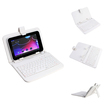 "NPI - Keyboard/Cover Case for 7"" Tablet PC - White"