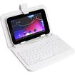 AGPtek - USB Keyboard Leather Protective Case Smart Cover Bag for 7 inch Tablet PC MID - Black