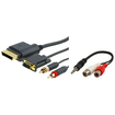 eForCity - VGA AV Cable and RCA To 3.5MM Adapter Bundle For XBOX 360 HD Deal
