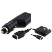 eForCity - CAR and WALL Charger Bundle For Nintendo GAME BOY ADVANCE SP GBA