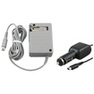 eForCity - HOME and CAR BATTERY CHARGER ADAPTER Bundle For Nintendo DSI XL