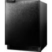 Summit - Refrigerator/Freezer - Black