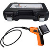 Image - LCD Wireless 4.5mm Pipe Drain Borescope Micro Inspection Night Vision Recordable Camera W/Carry Case