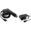 eForCity - Premium Power Accessories Kit Car Charger and Home Charger Bundle For TomTom XXL 540S