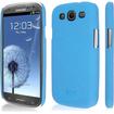 Empire - KLIX SlimFit Hard Case for Samsung Galaxy S III - Textured, Light Blue Quicksand - Textured, Light Blue Quicksand