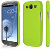 Empire - KLIX SlimFit Hard Case for Samsung Galaxy S III - Lime Green - Lime Green
