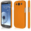 Empire - KLIX SlimFit Hard Case for Samsung Galaxy S III - Orange - Orange