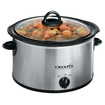 Crock-Pot - Round Slow Cooker - Stainless Steel