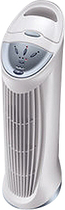 Honeywell - QuietClean Tower Air Purifier with Permanent Washable Filters, - White