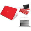 eForCity - Snap on Rubber Case with FREE Reusable Screen Cover and Keyboard Skin Shield For MacBook Pro