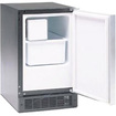 "Marvel - 15"" Built-in Ice Maker with 15 lbs. Storage Capacity, 12 lbs. Daily Production, Manual Defrost - Black"
