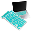 eForCity - Silicone Keyboard Skin Shield Cover for Select MacBook® Models - Turquoise - Turquoise