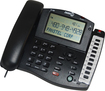 Fanstel - Big Screen Caller ID Phone - Black