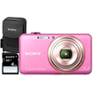 Sony - Cyber-shot 16.2 Megapixel Compact Camera - Pink