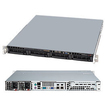 Super Micro - SuperServer Barebone System - 1U Rack-mountable - Intel C202 Chipset - Socket H2 LGA-1155 - Black