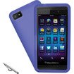 Accessory Genie - Impact-Resistant Cell Phone Case & Stylus for BlackBerry Z10 Smartphone
