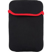 """eForCity - 7 inch Tablet Sleeve for Samsung Galaxy Tab 3 7"""" - Black, Red"""
