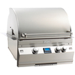 "Fire Magic - 25"" Built-in 432 sq.in. Gas Grill w/66,000 BTU, Rotisserie Backburner, Warming Rack & Thermometer"