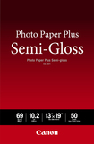 Canon - Photo Paper Plus Semi-gloss SG-201 8x10 - 20 Sheets