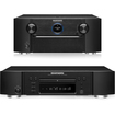 Marantz - SR7007 7.2 Channel Receiver and UD5007 Universal Blu-ray Disc Player Bundle