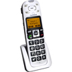 ClearSounds - A500E Amplified Talking Cordless Phone- Extension Handset - White - White