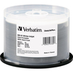 Verbatim - Blu-ray Recordable Media - BD-R - 6x - 25 GB - 50 Pack Spindle - White