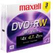 Maxell - Media 634043 DVD+RW 4.7GB 3PK