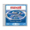 Maxell - Blu-ray Recordable Media - BD-R - 4x - 25 GB - 1 Pack Jewel Case