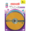 Maxell - Media 639031 4.7GB Recordable DVD (DVD+R) Color 16X Blister Pack