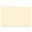 Smead - File Folders, 1/3 Cut First Position, One-Ply Top Tab, Legal, Manila, 100/Box