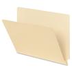 Smead - Straight Cut End Tab Folders, 9 1/2 Inch Front, Letter, Manila, 100/Box