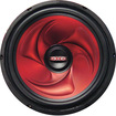 "XXX - XX1240 Custom Poly Cone 12"" 400W Car Audio Subwoofer - Red"