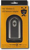 Tivoli Audio - AG0100 Wireless G USB Network Adapter for TiVo Series 2 and Series 3 DVRs