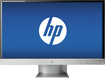 "HP - Pavilion 27"" IPS LED HD Monitor - Silver"