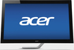 "Acer - T-Series 23"" IPS LED HD Touch-Screen Monitor - Black"