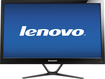 "Lenovo - 21.5"" Widescreen Flat-Panel IPS LED HD Monitor - Black"