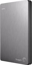 Seagate - Slim 500GB External USB 3.0/2.0 Portable Hard Drive - Silver - Silver